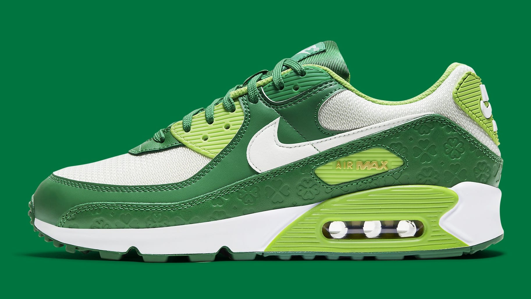 Nike Air Max 90 St. Patrick's Day Release Date DD8555-300 Profile