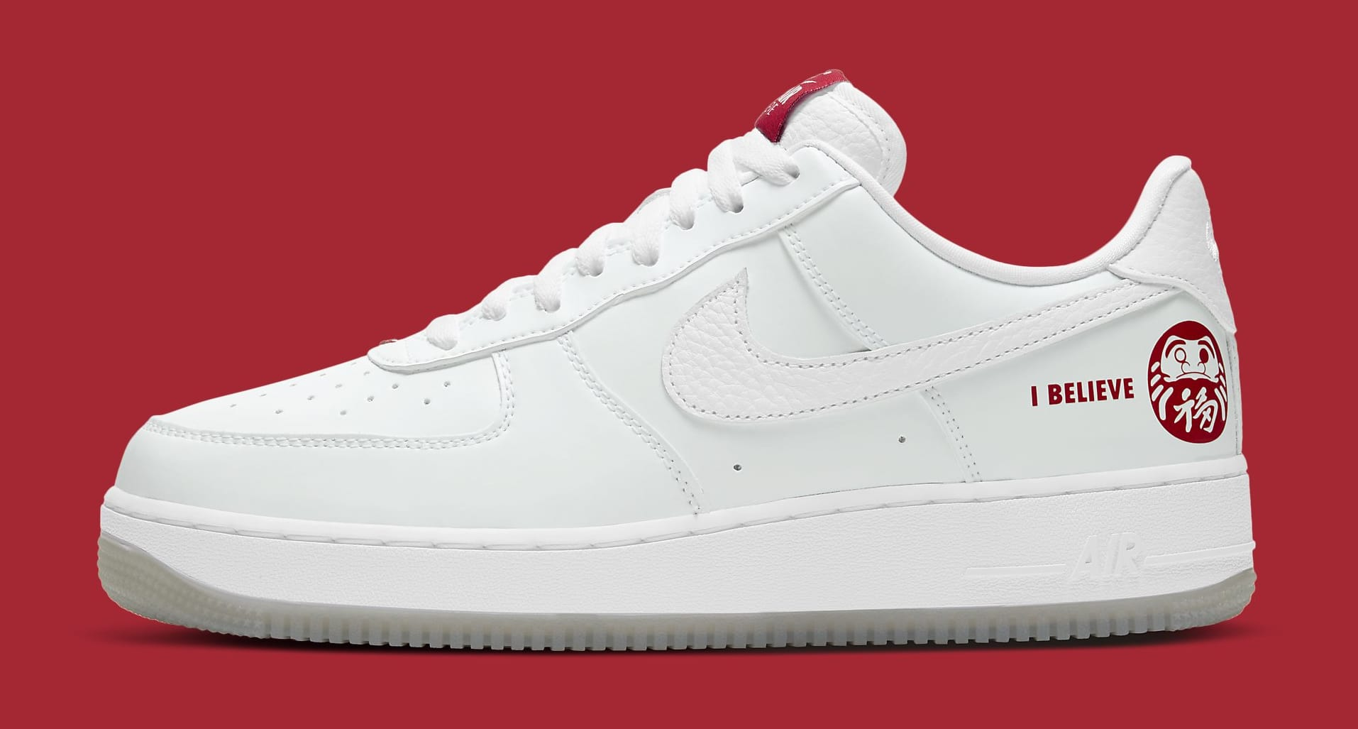 BAIT x Nike Air Force 1 Low 'I Believe' DD9941-100 Lateral
