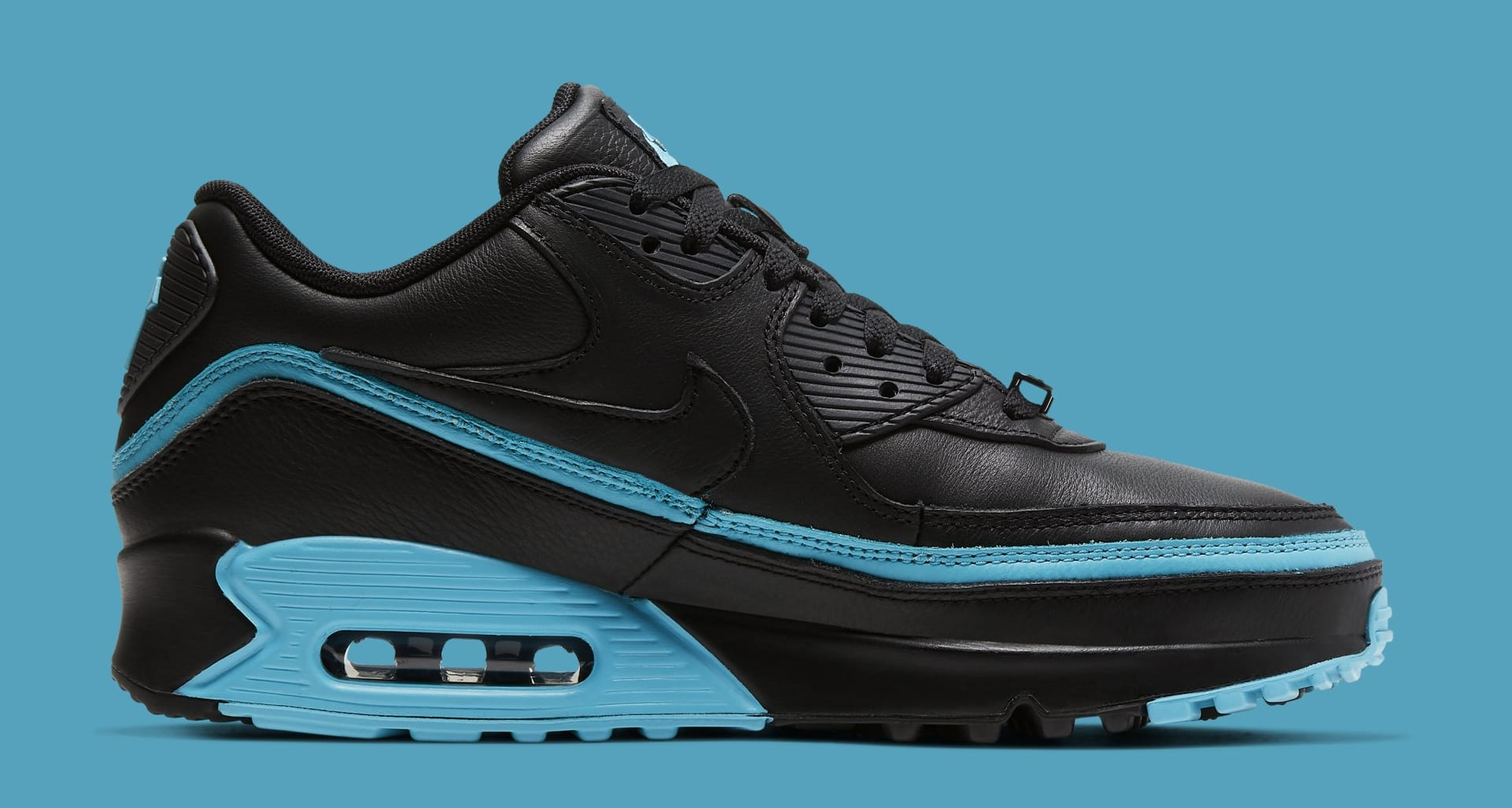 undefeated-nike-air-max-90-black-blue-fury-cj7197-002-medial