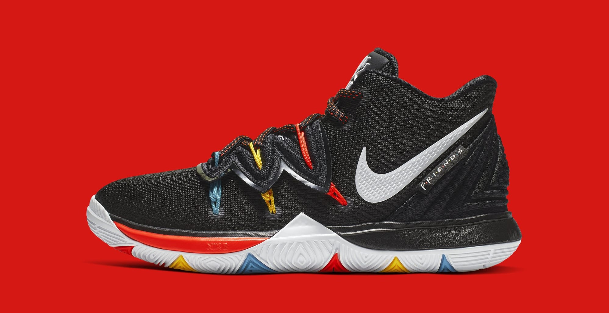 half off 9c0b4 b1043 Nike Kyrie 5  Friends  AQ2456-006 (Lateral)