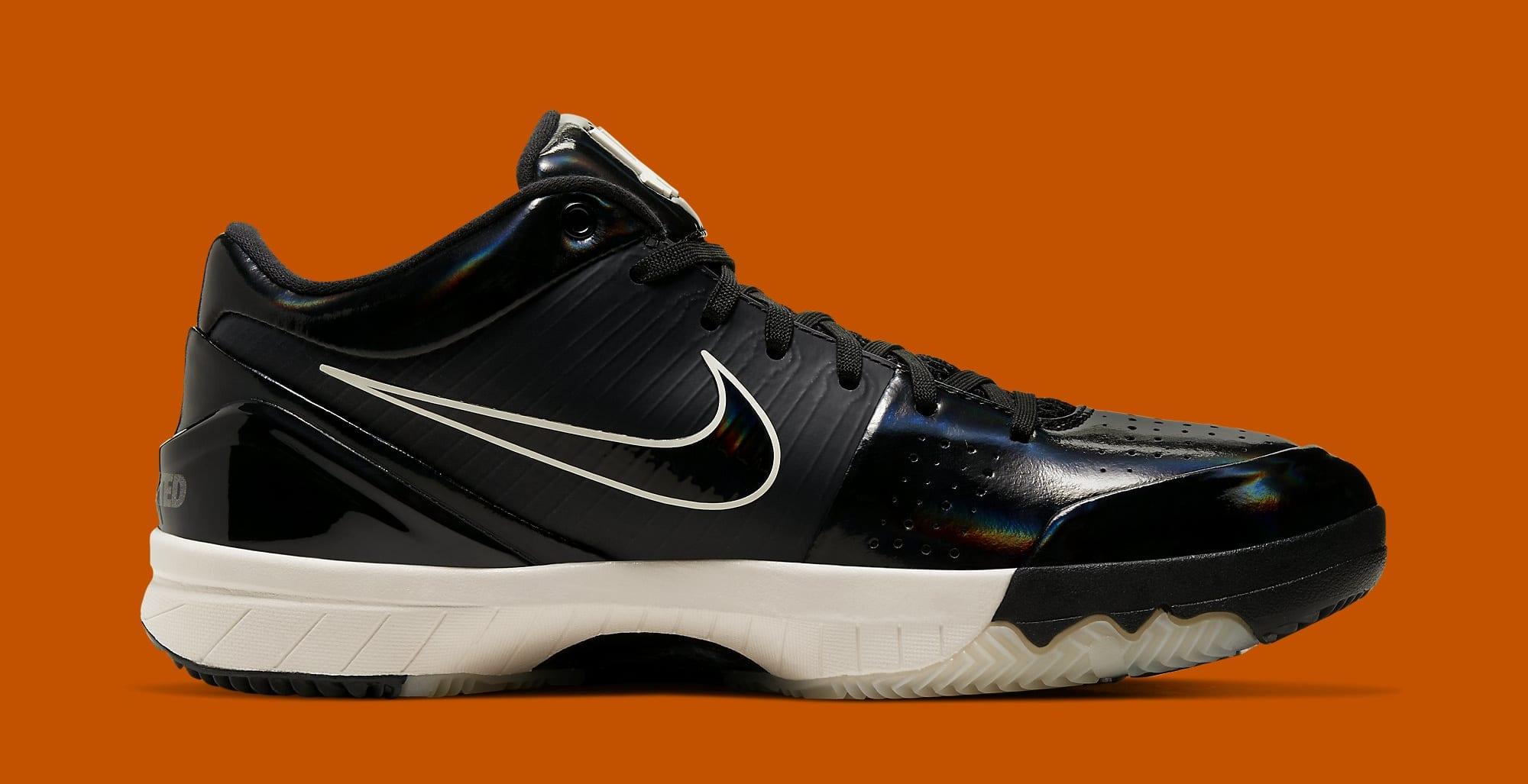 Undefeated x Nike Kobe 4 Protro 'Black Mamba' CQ3869-001 (Medial)