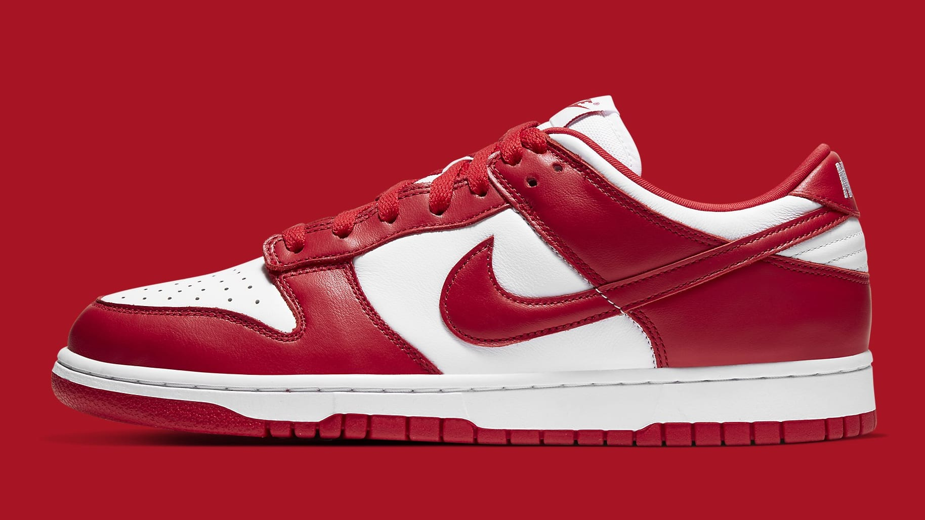 Nike Dunk Low University Red Release Date CU1727-100 Profile