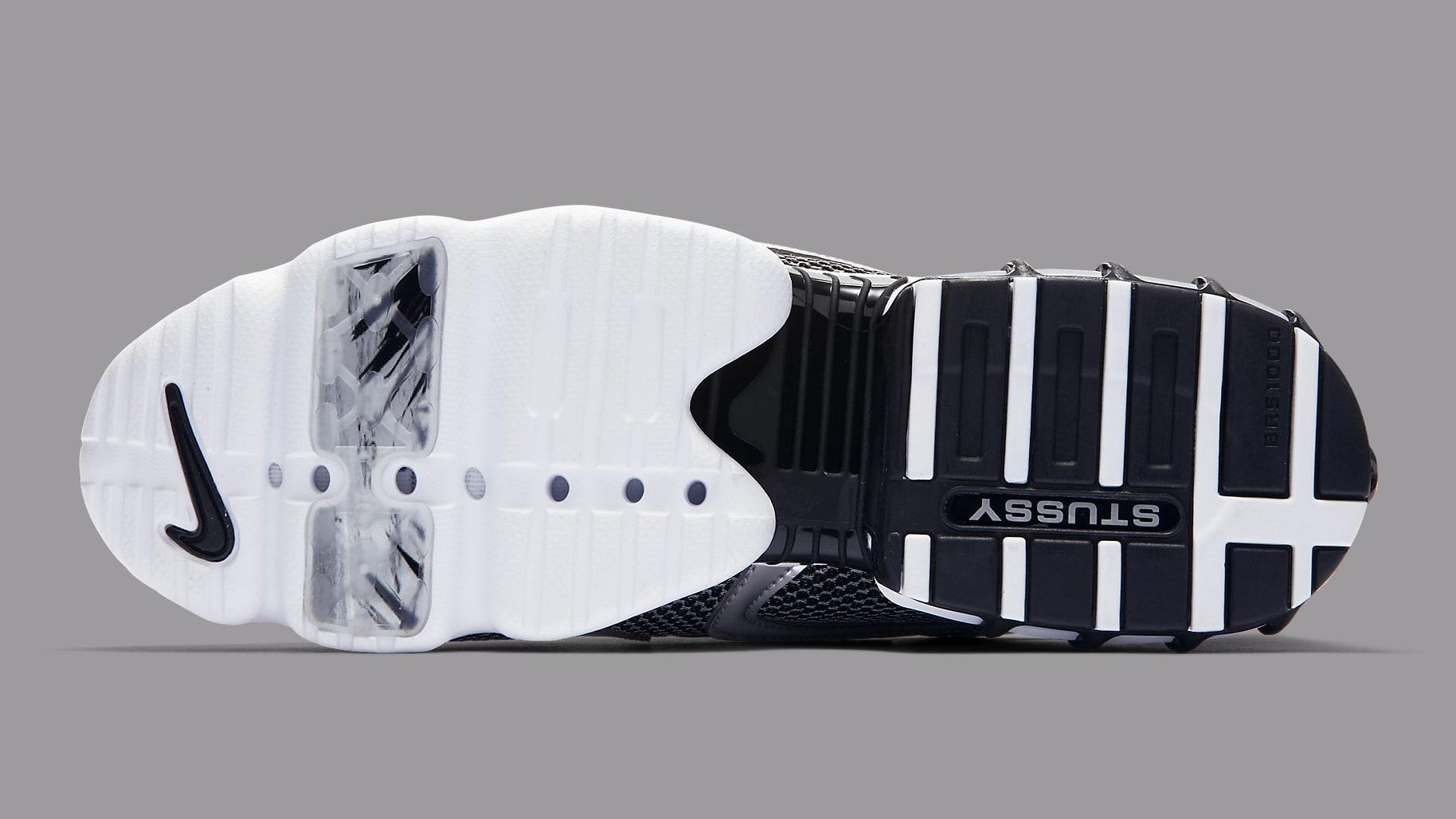 Stussy x Nike Air Zoom Spiridon Caged 2 Black Release Date CU1854-001Sole