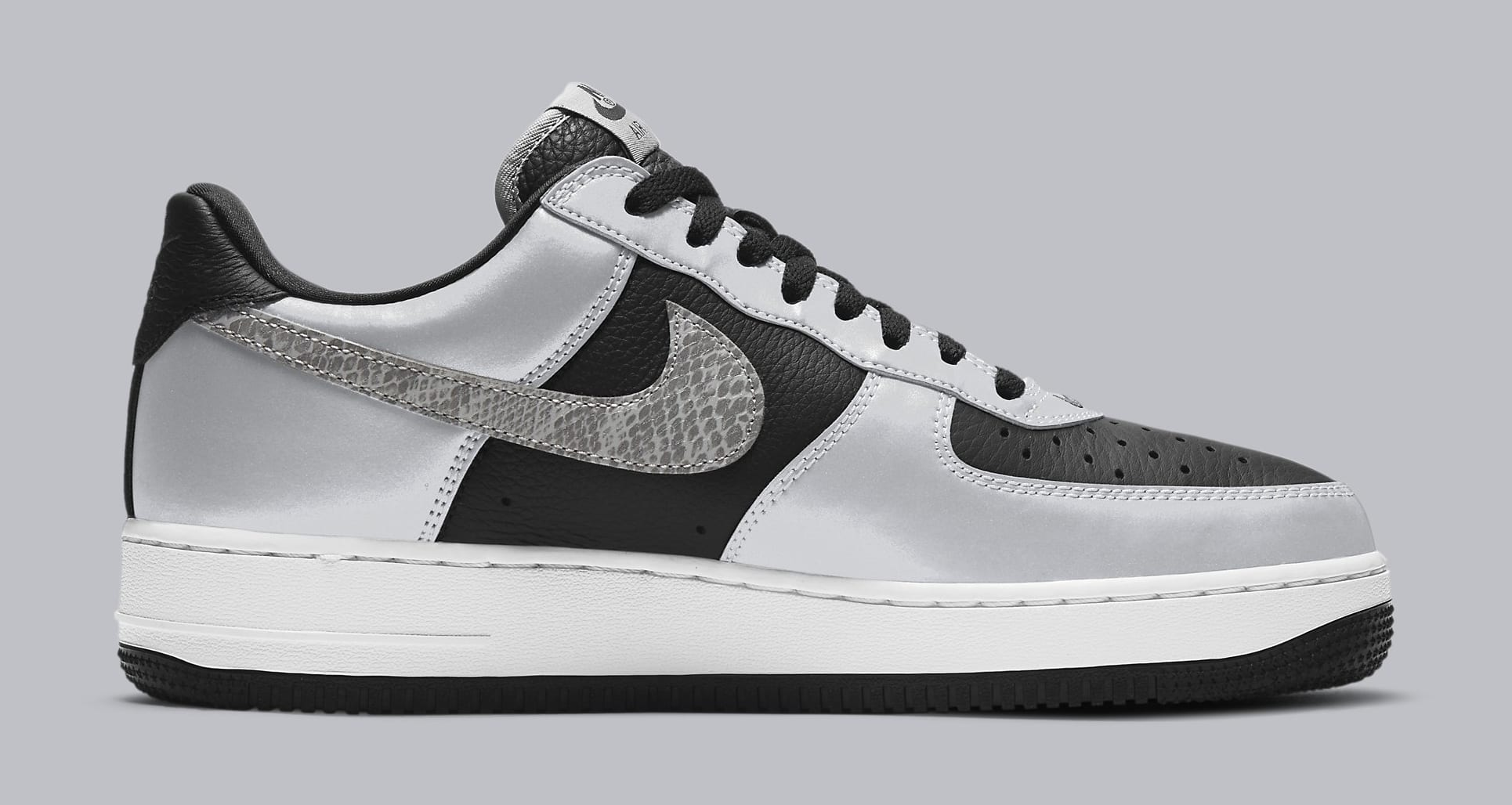 Nike Air Force 1 Low '3M Snake' DJ6033-001 Medial