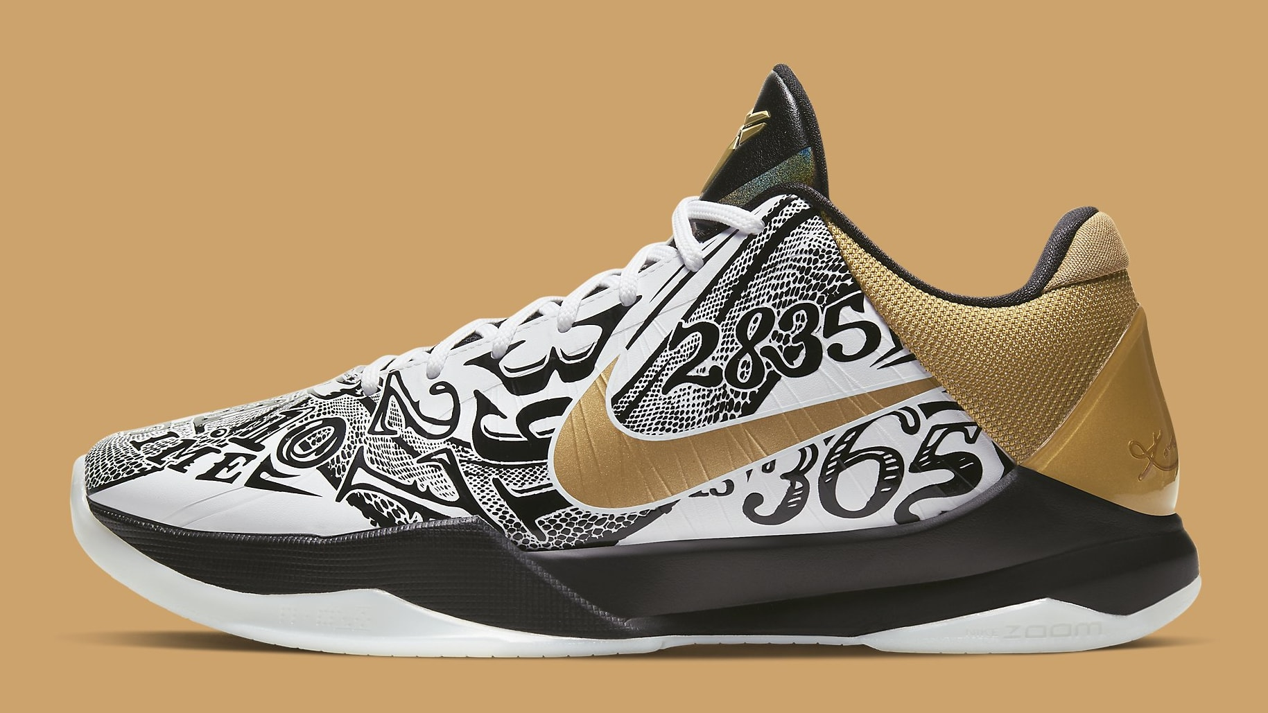 Nike Kobe 5 Big Stage Parade Release Date CT8014-100 Profile
