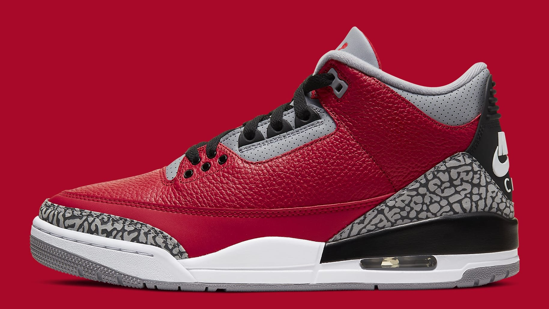 Air Jordan 3 CHI Exclusive Release Date CU2277-600 Profile