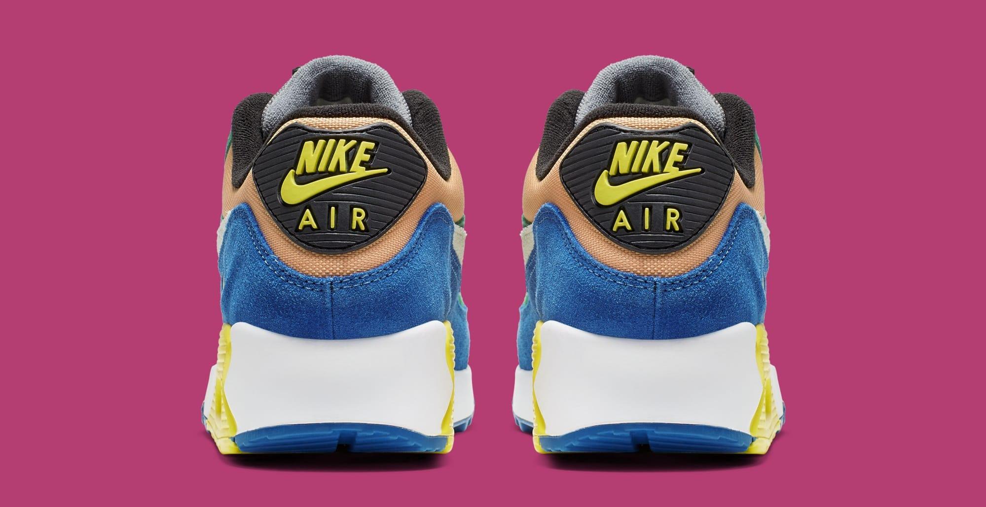 Nike Air Max 90 QS 'Viotech' Lucid Green/Game Royal CD0917-300 (Heel)