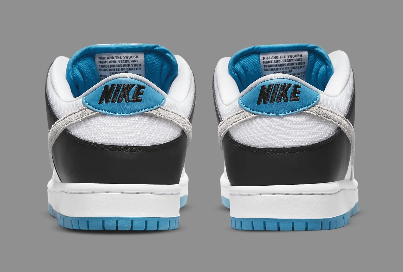 Nike SB Dunk Low 'Laser Blue' BQ6817-101 Heel