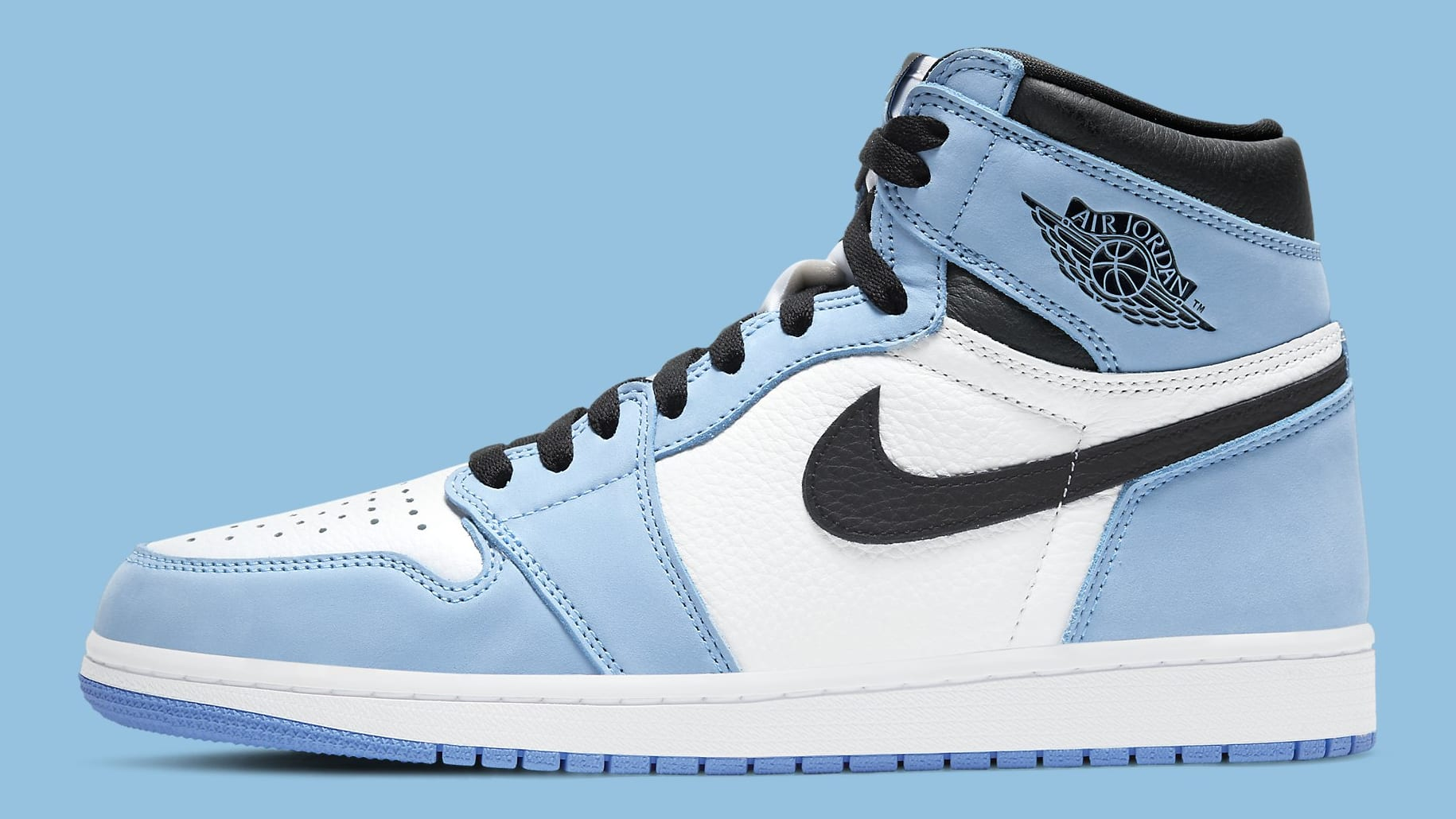 Air Jordan 1 University Blue Release Date 555088-134 Profile