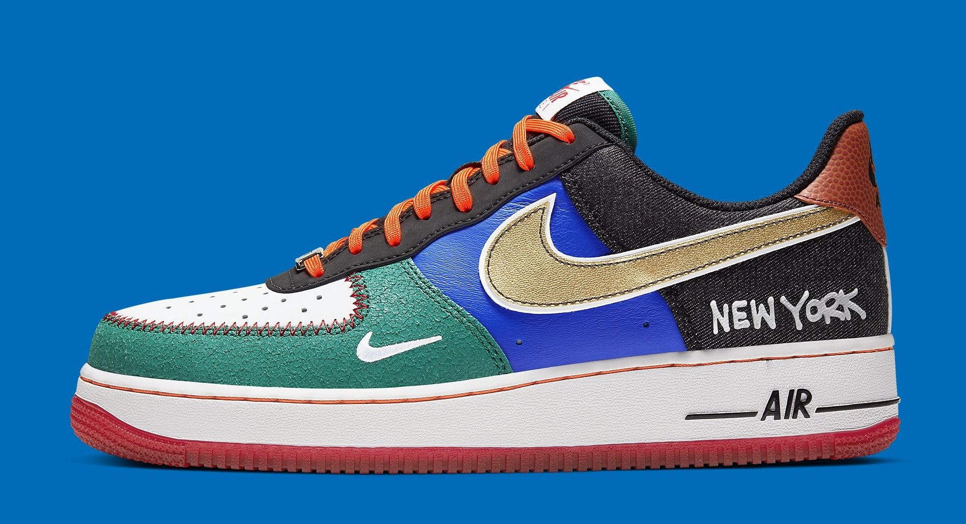 Nike Air Force 1 Low 'What The NYC' Release Date CT3610-100 ...