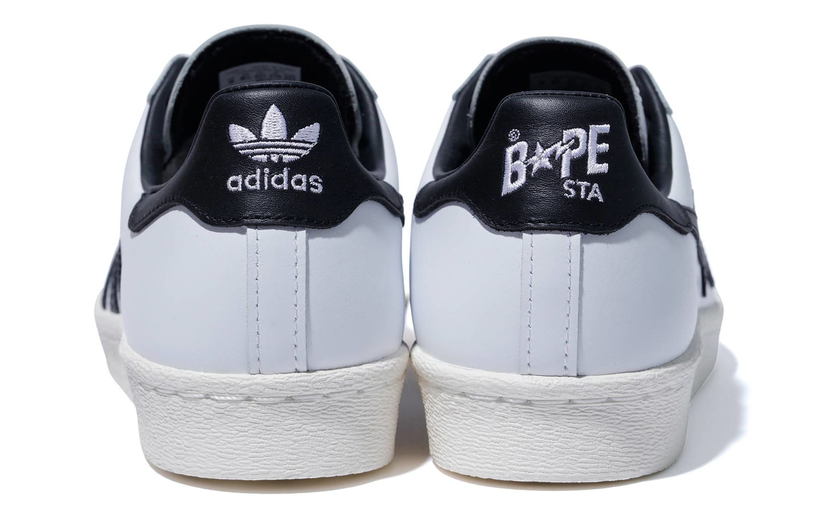 Bape x Adidas Originals Superstar Heel