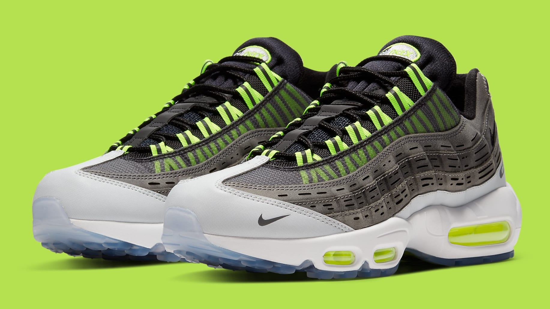 Kim Jones x Nike Air Max 95 Volt Release Date DD1871-002 Pair