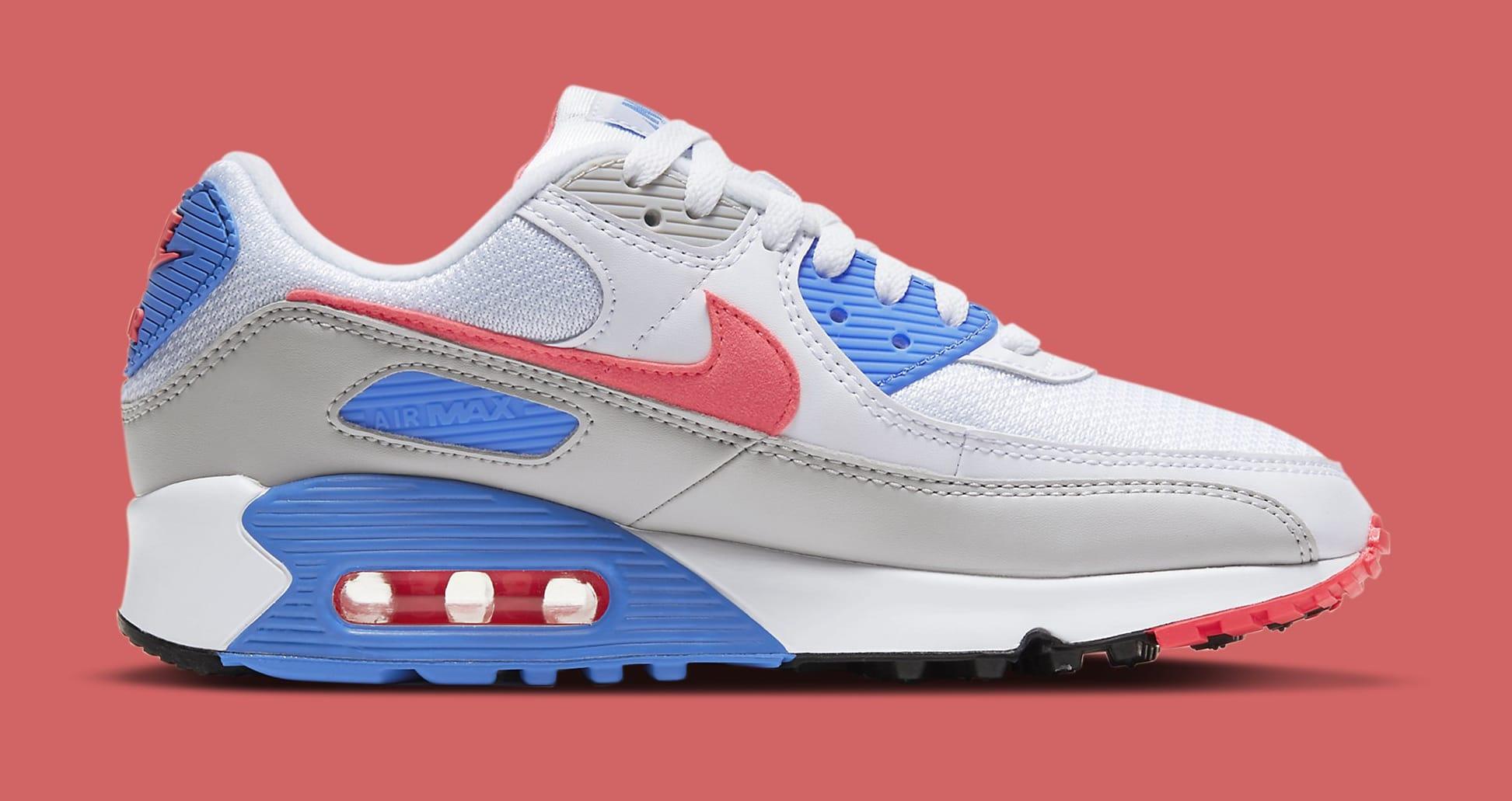 Nike Air Max 90 'Hot Coral' DA8856-100 (Medial)
