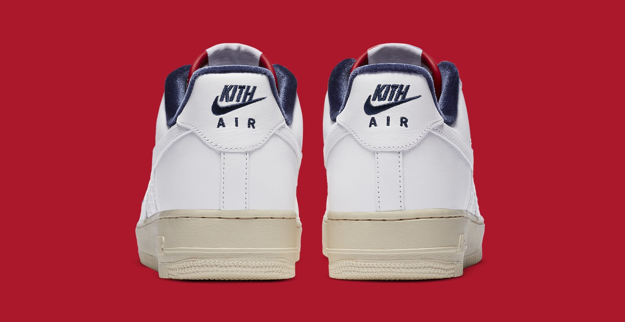 Kith x Nike Air Force 1 Low CZ7927-100 Heel
