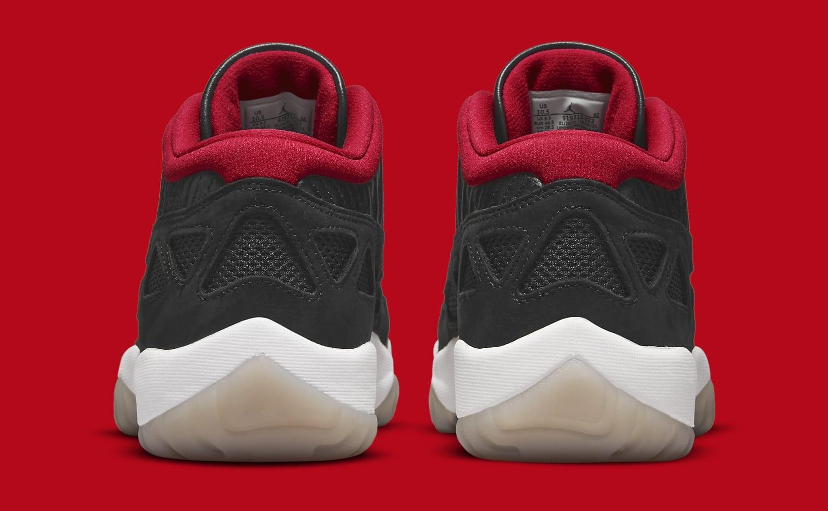 Air Jordan 11 Low IE 'Black/Red' 919712-023 Heel