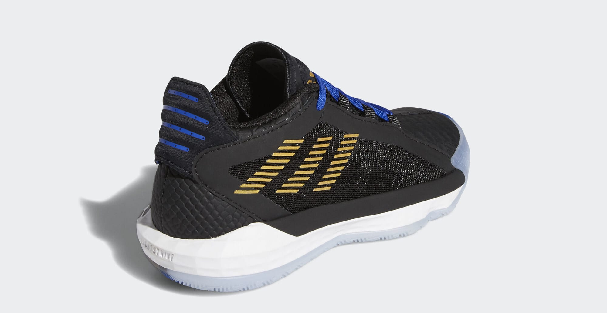 Adidas Dame 6 'Stone Cold' FV4214 (Heel)