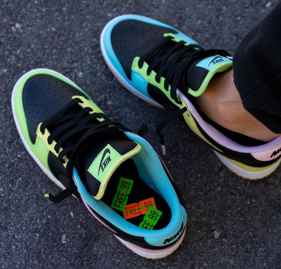 Nike Dunk Low 'Free 99' Black DH0952-001 Top