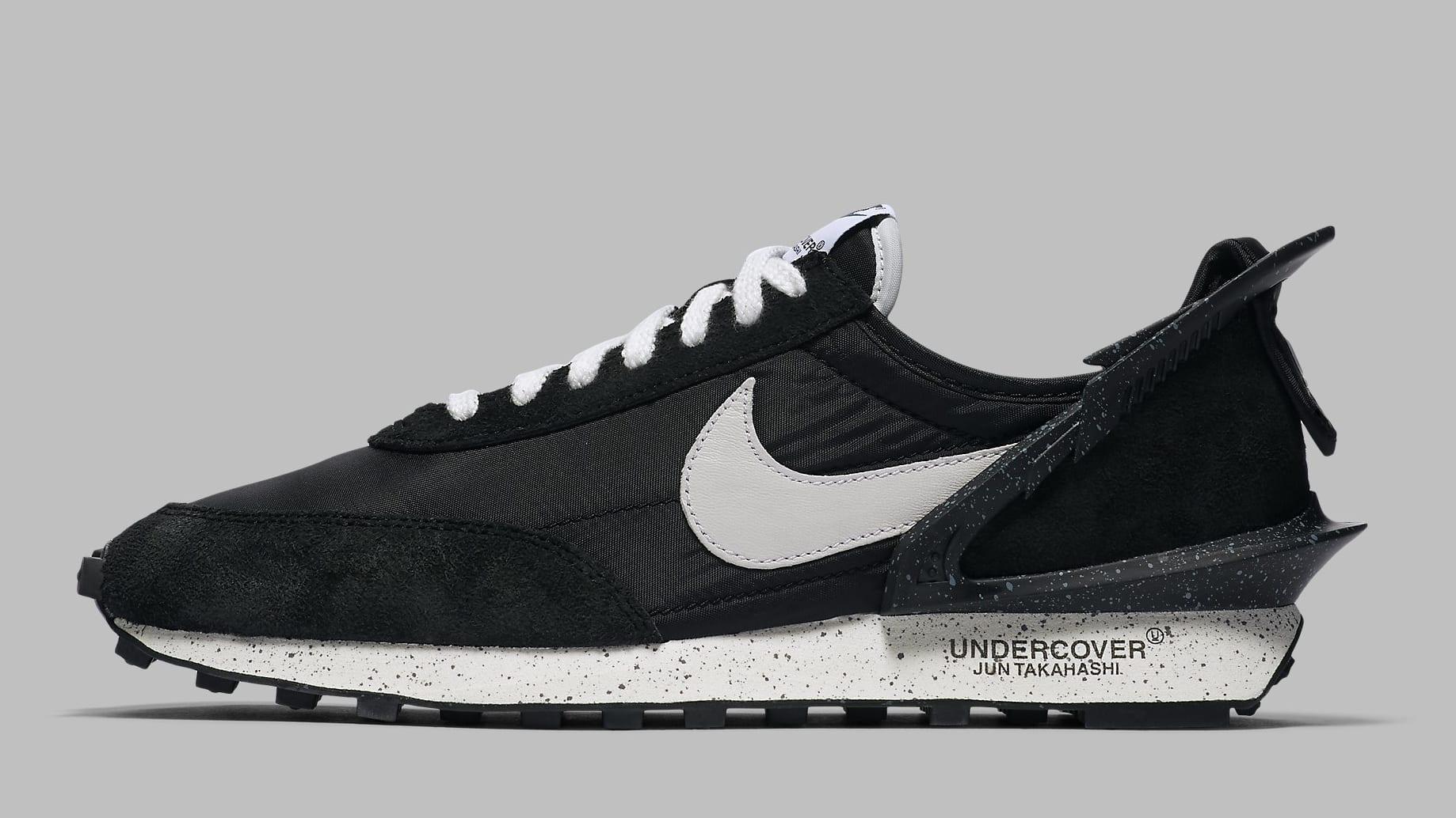 Undercover x Nike Daybreak 'Black' BV4594-001 Lateral
