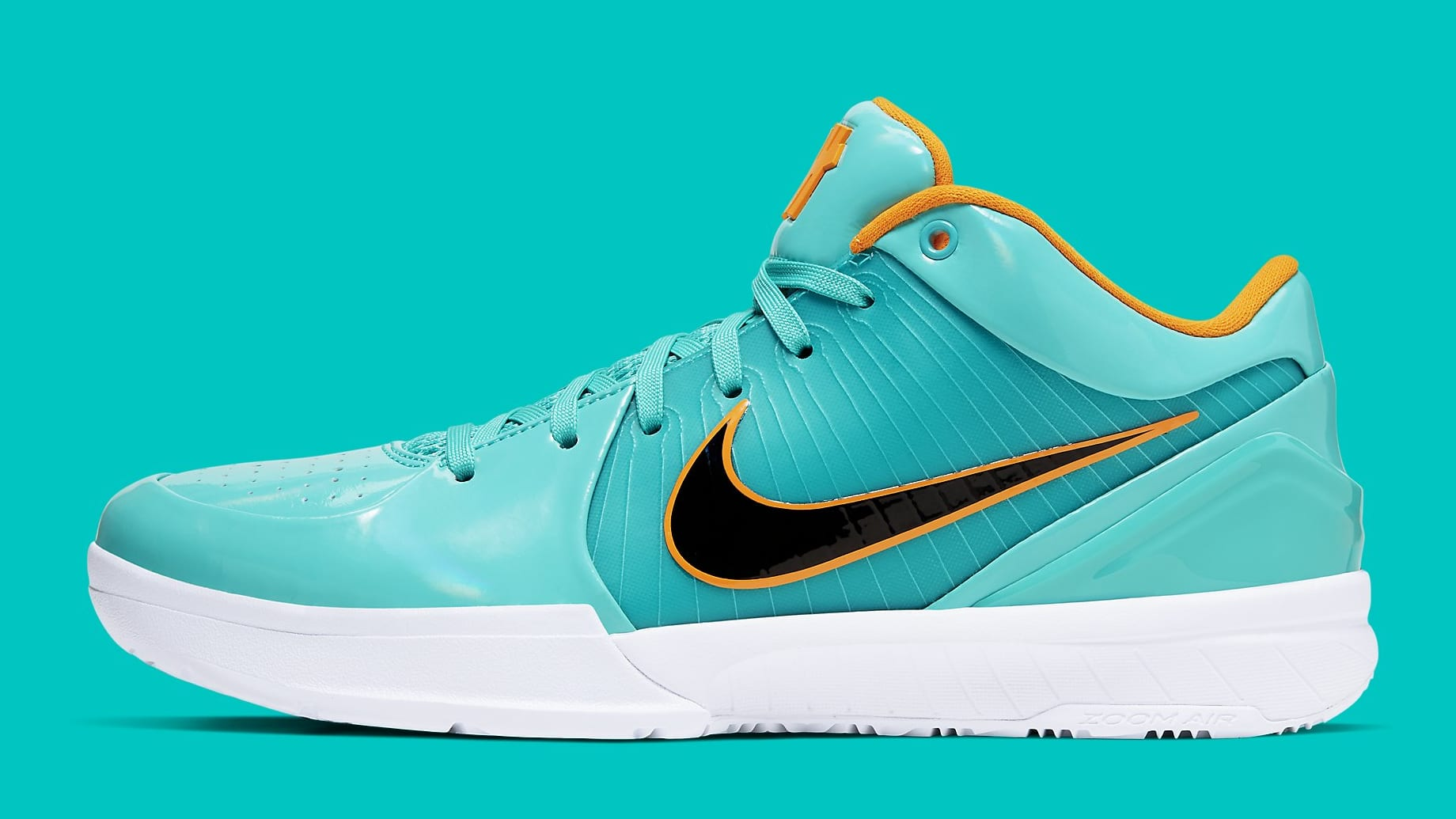 UNDFTD x Nike Kobe 4 Protro Teal Release Date CQ38869-300 Profile