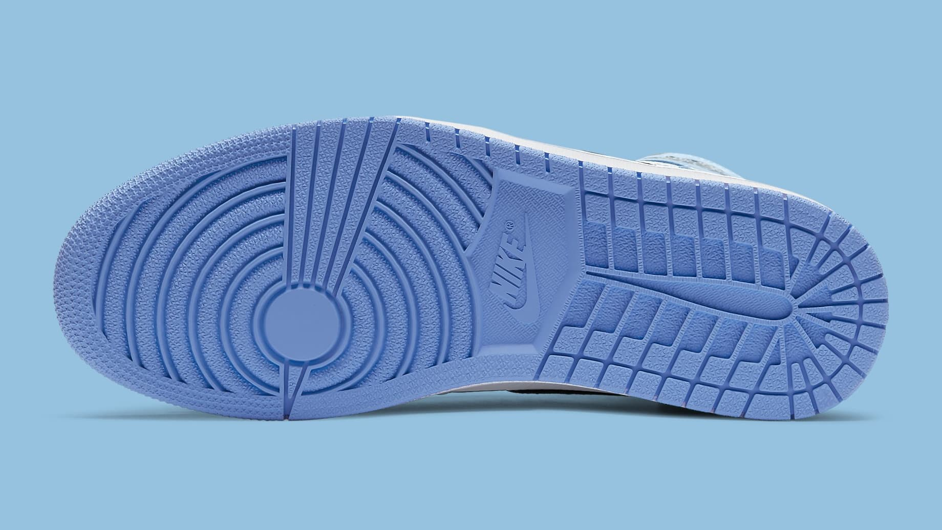 Air Jordan 1 University Blue Release Date 555088-134 Sole