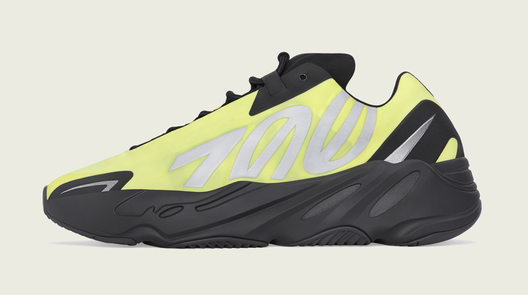Adidas Yeezy Boost 700 MNVN 'Phosphor' FY3727 Lateral