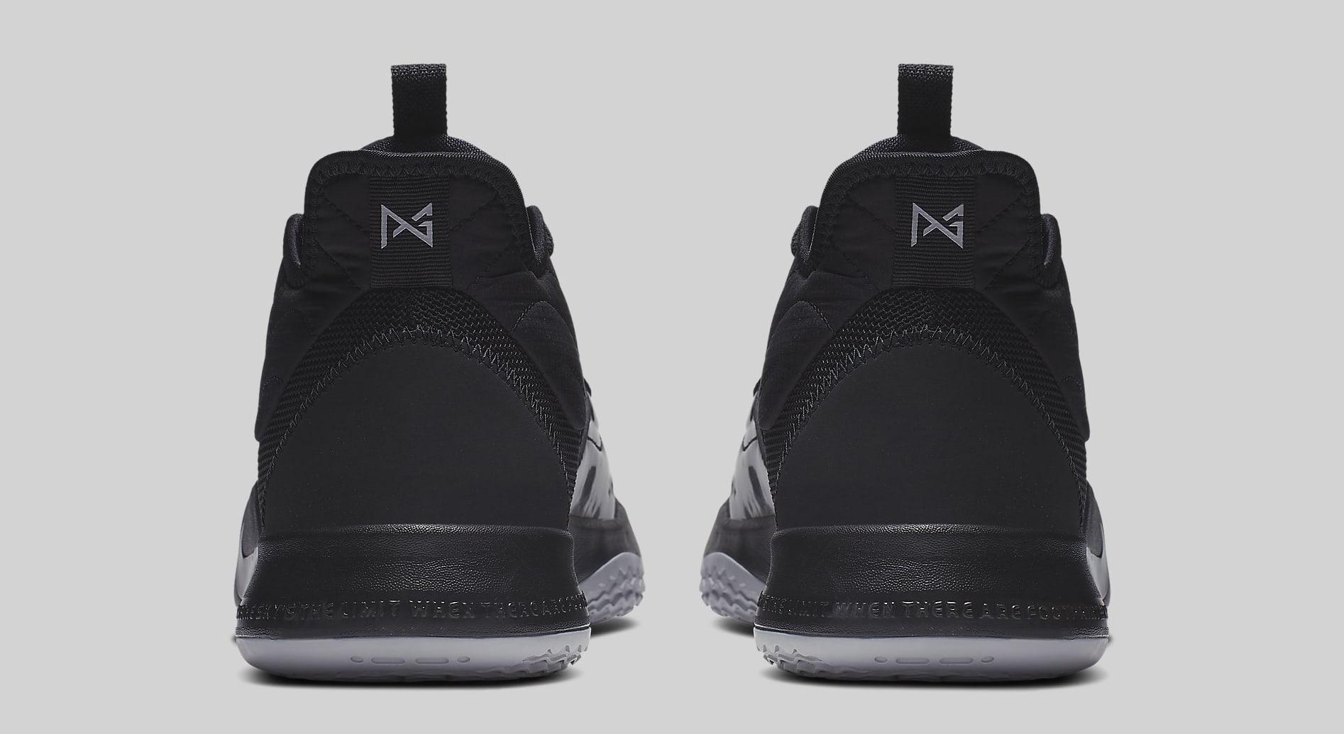 Nike PG 3 Black/Black AO2607-003 Heel