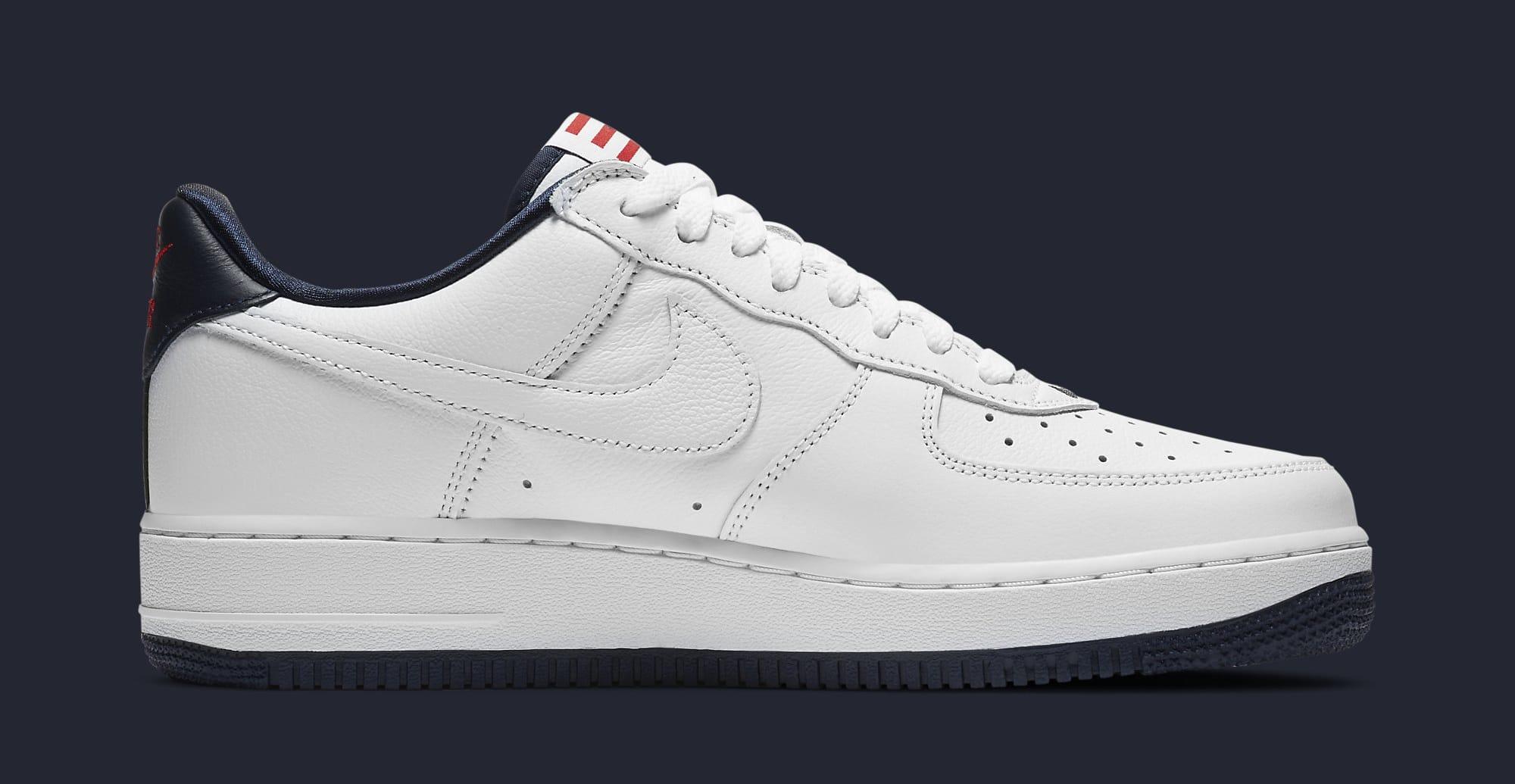 Nike Air Force 1 Low 'Puerto Rico' 2020 CJ1386-100 Medial