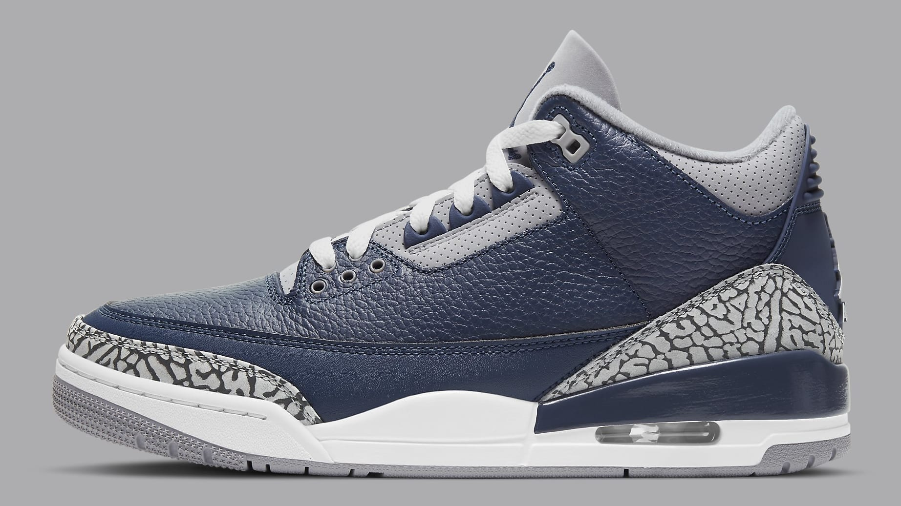 Air Jordan 3 Midnight Navy Release Date CT8532-401 Profile