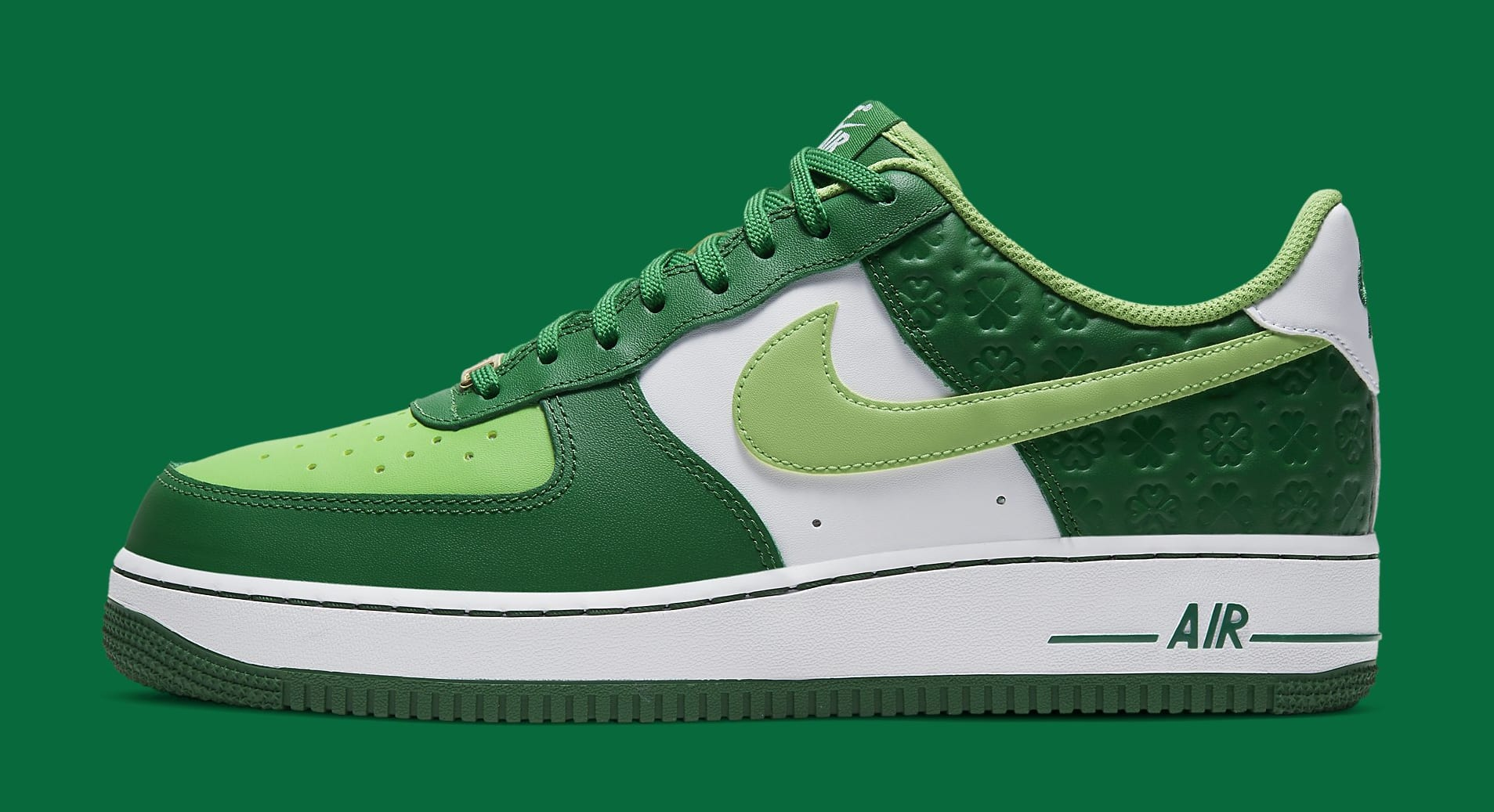 Nike Air Force 1 Low 'St. Patrick's Day' DD8458-300 Lateral