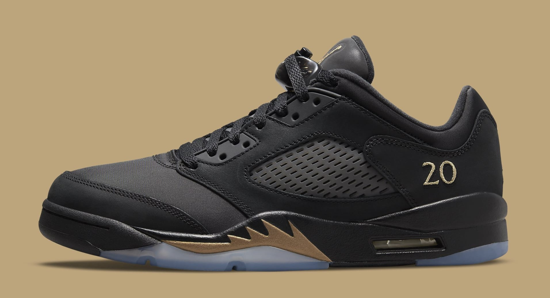 Air Jordan 5 Retro Low Wings 'Class of 2020-21' DJ1094-001 Lateral