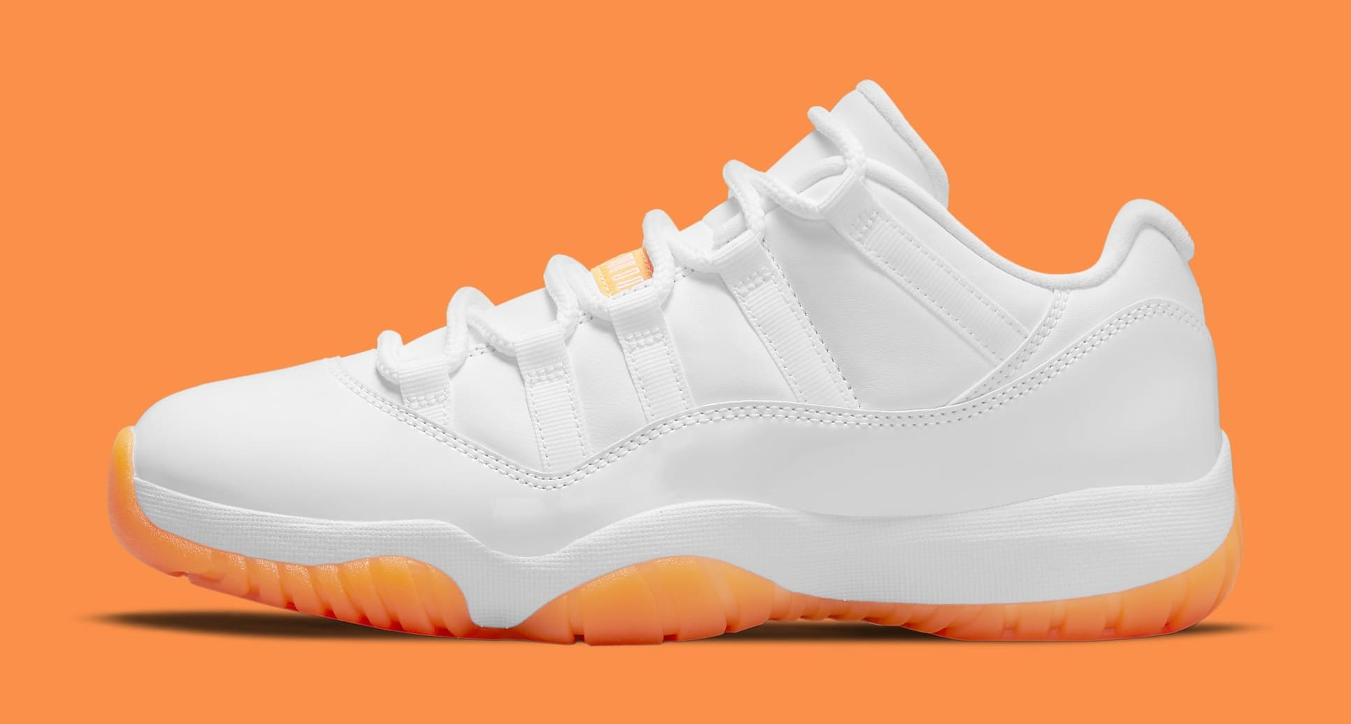 Air Jordan 11 Retro Low Women's 'Citrus' AH7860-139 Lateral