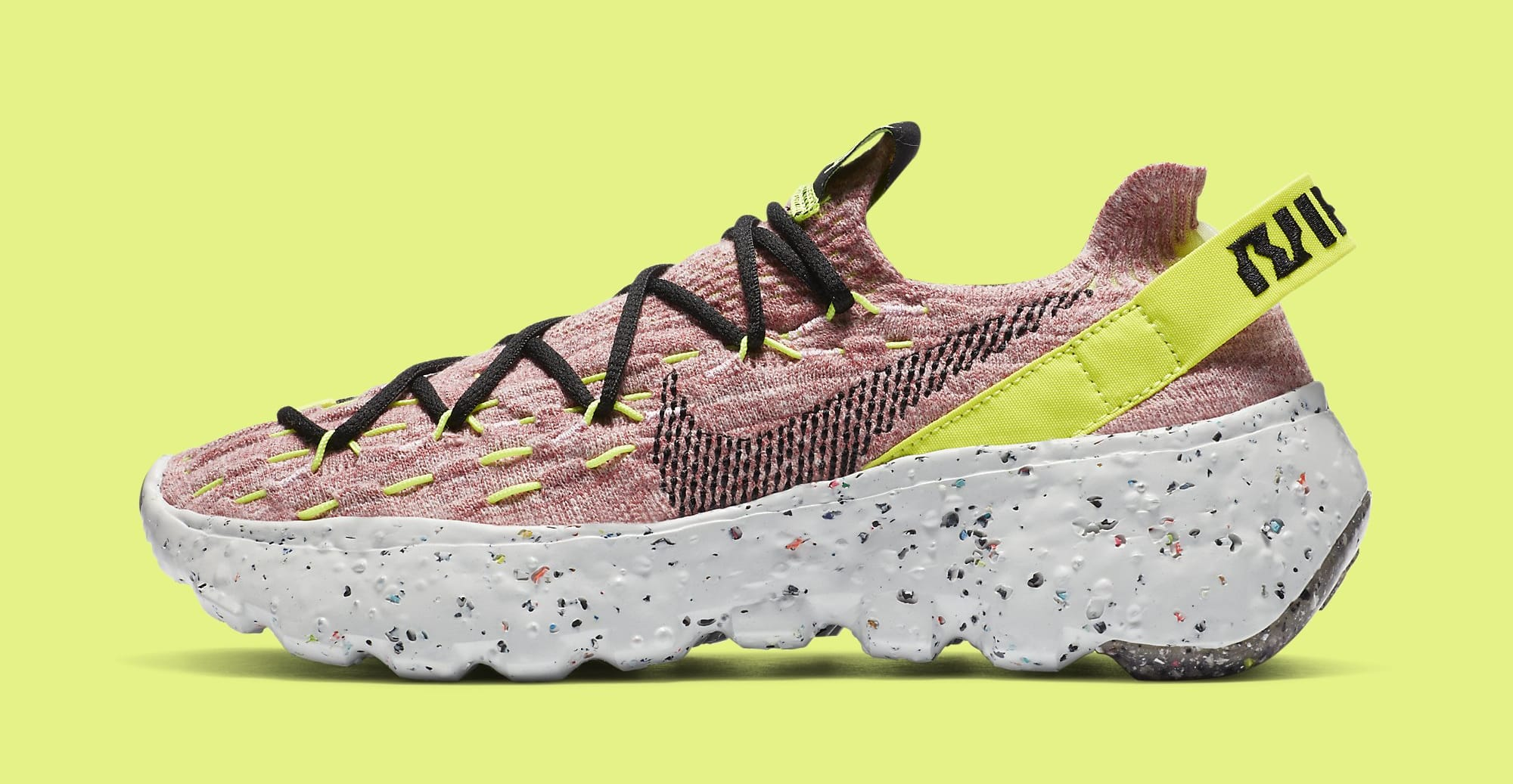 Nike Space Hippie 04 Women's 'Lemon Venom' CD3476-700 Lateral