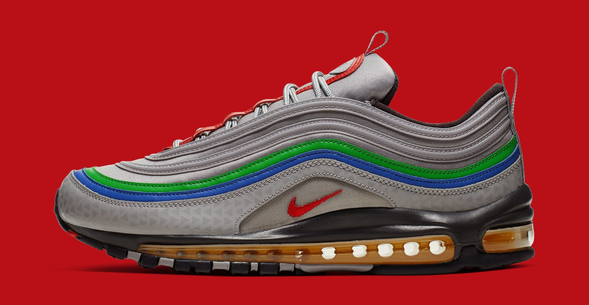 Nike Air Max 97 'Nintendo 64' CI5012-001 (Lateral)