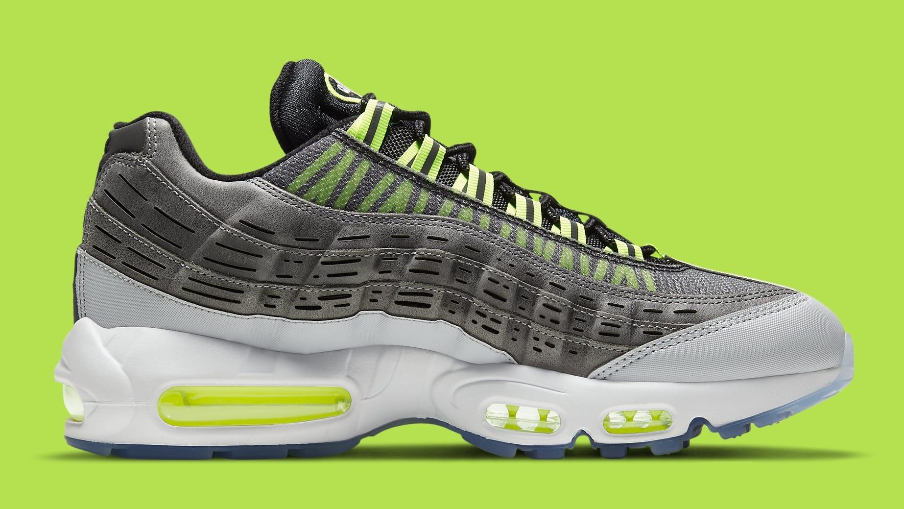 Kim Jones x Nike Air Max 95 Volt Release Date DD1871-002 Medial
