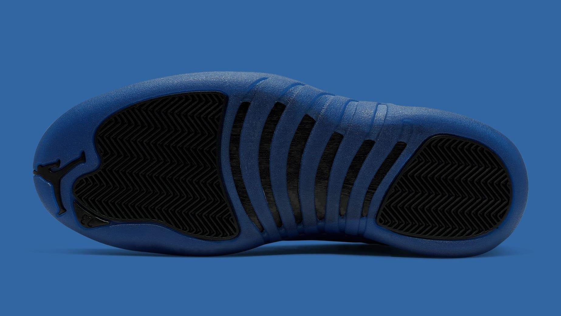 Air Jordan 12 Retro 'Black/Game Royal' 130690-014 (Sole)