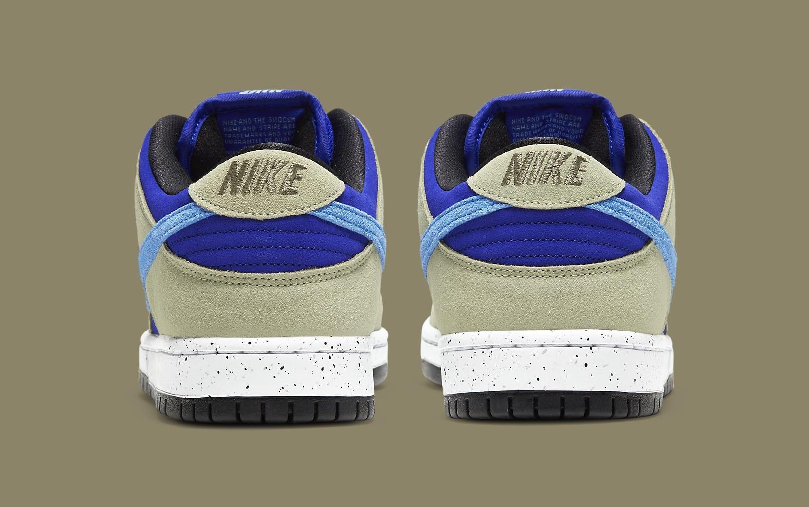 Nike SB Dunk Low 'ACG Caldera' BQ6817-301 Heel