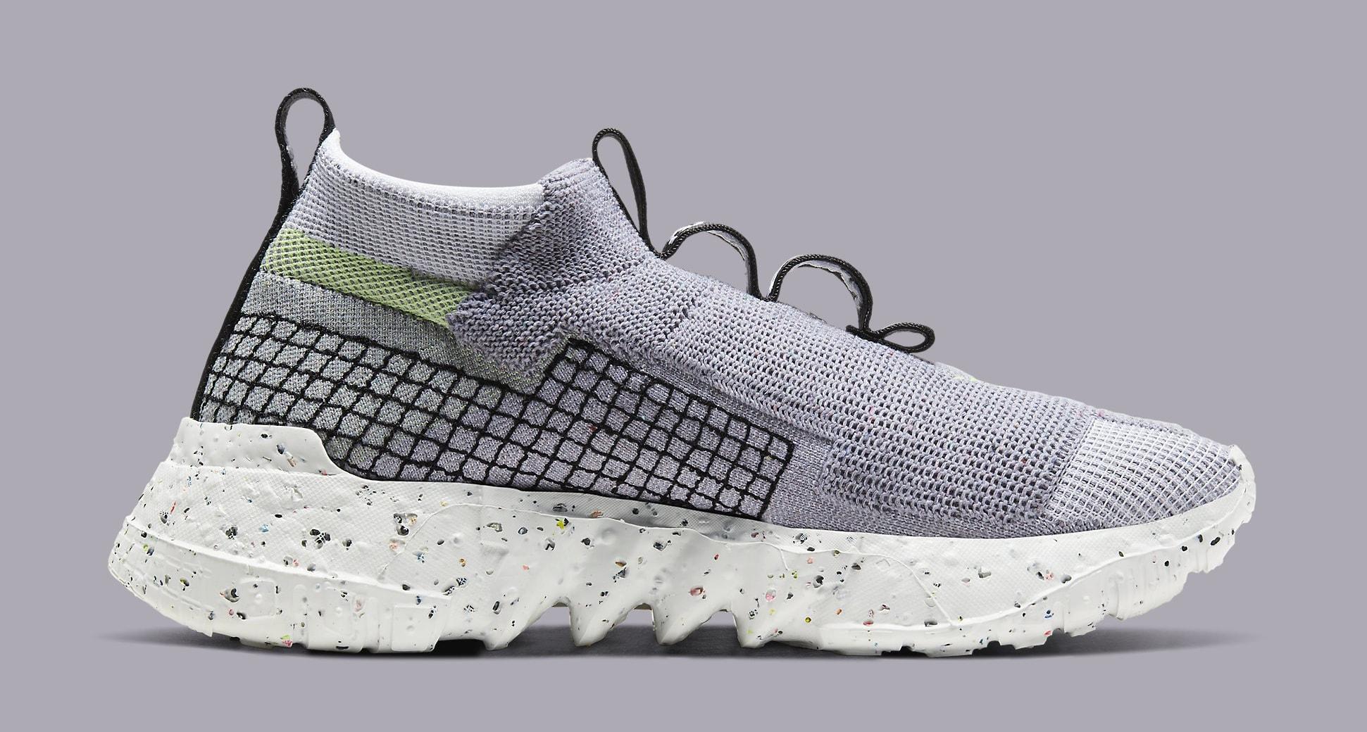 Nike Space Hippie 02 'Grey/Volt' CQ3988-002 Medial