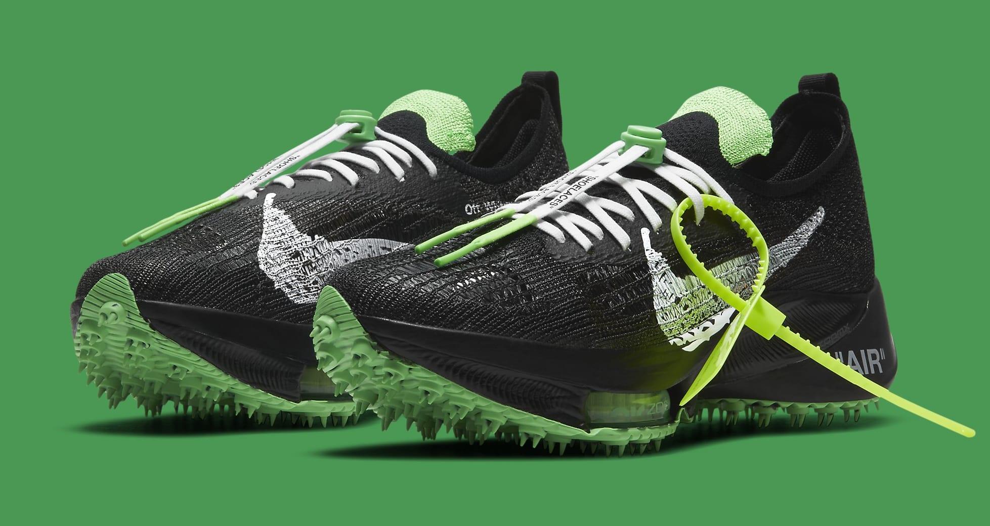 Off-White x Nike Air Zoom Tempo Next% CV0697-001 Pair