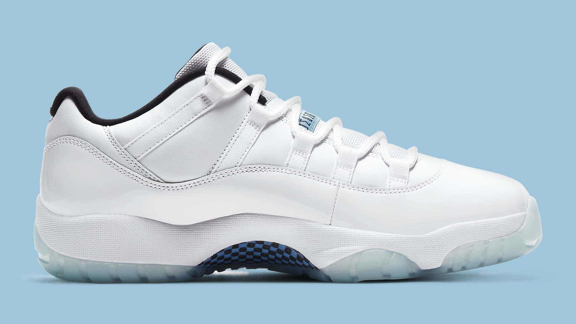 Air Jordan 11 XI Low Legend Blue Release Date AV2187-117 Medial