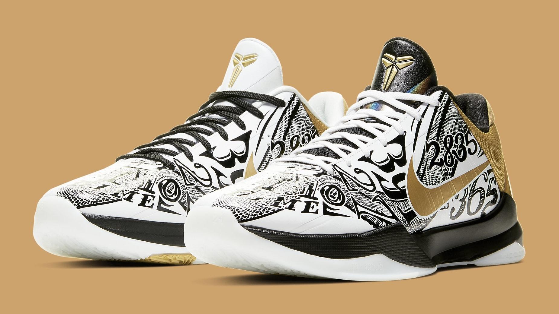 Nike Kobe 5 Big Stage Parade Release Date CT8014-100 Pair