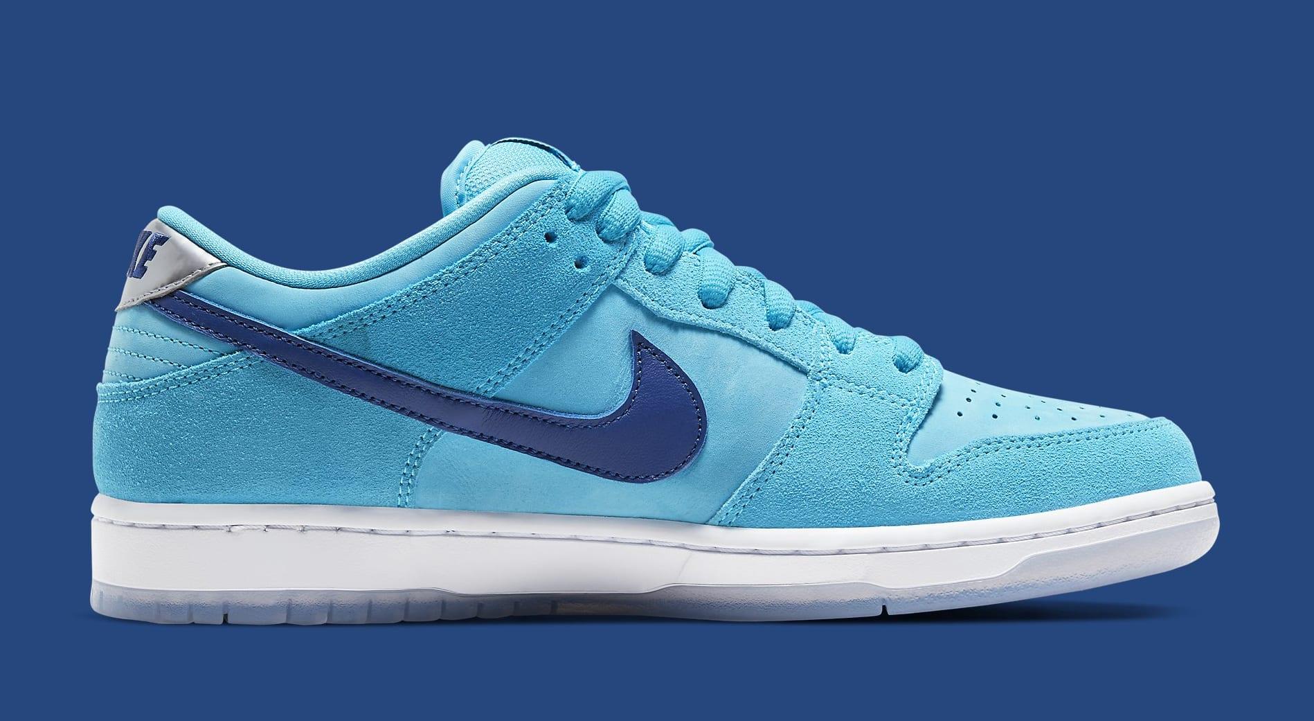 Nike SB Dunk Low 'Blue Fury' BQ6817-400 Medial