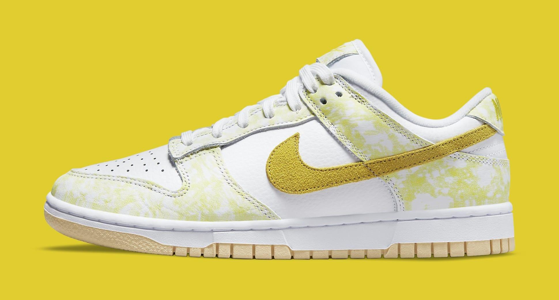 Nike Dunk Low 'Yellow Strike' DM9467-700 Lateral