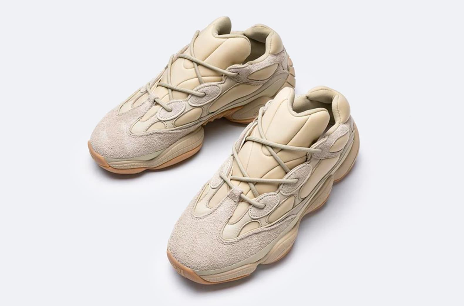 First Look at the 'Stone' Adidas Yeezy 500