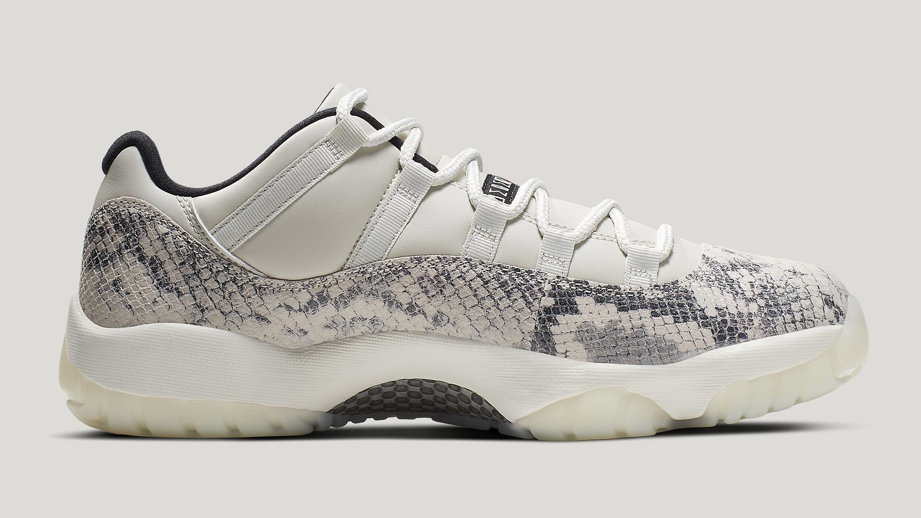 promo code 9fef3 25aab Image via Nike Air Jordan 11 XI Low Light Bone Release Date CD6846-002  Medial