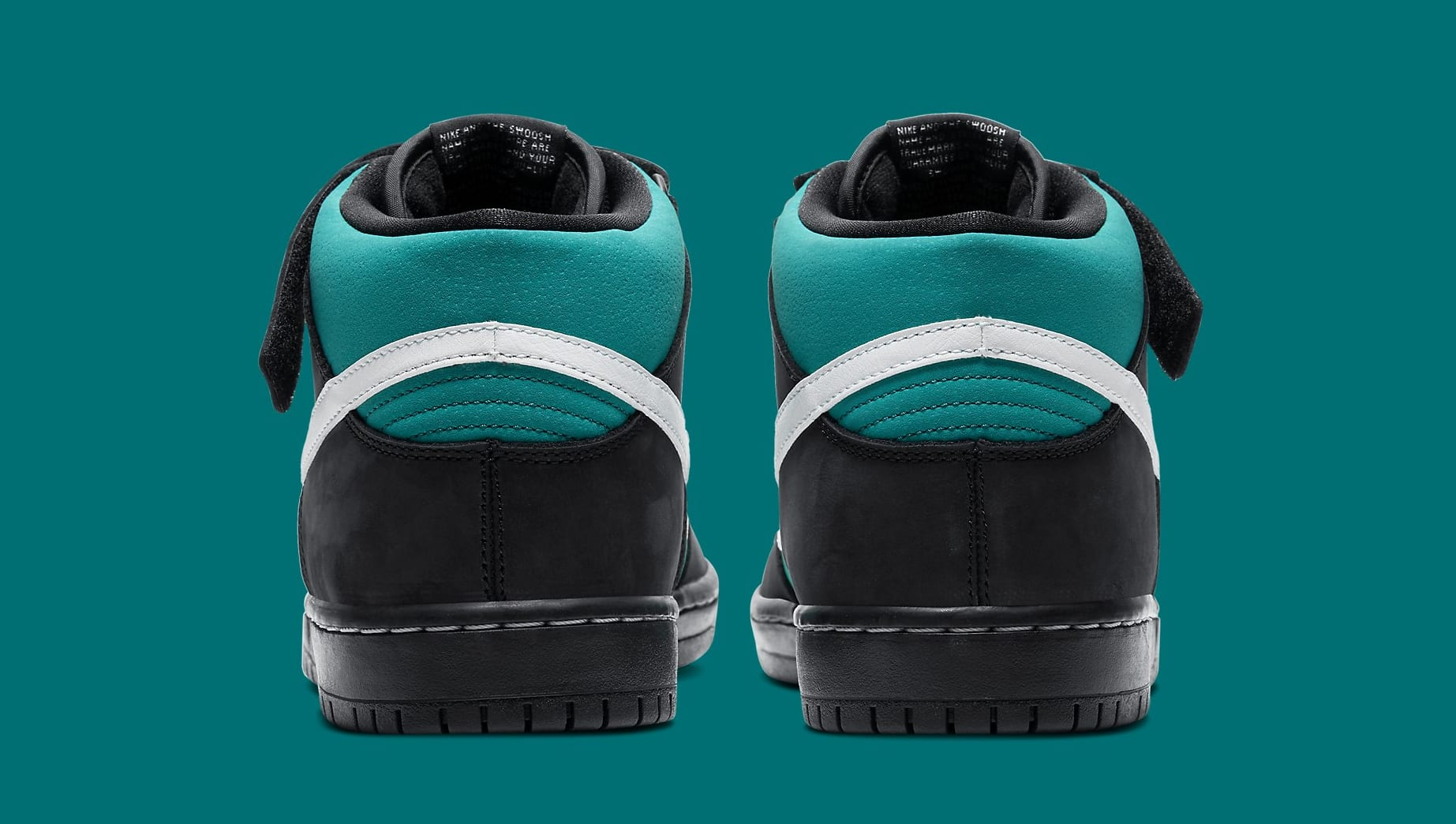 Nike SB Dunk Mid 'Griffey Jr.' CV5474-001 Heel