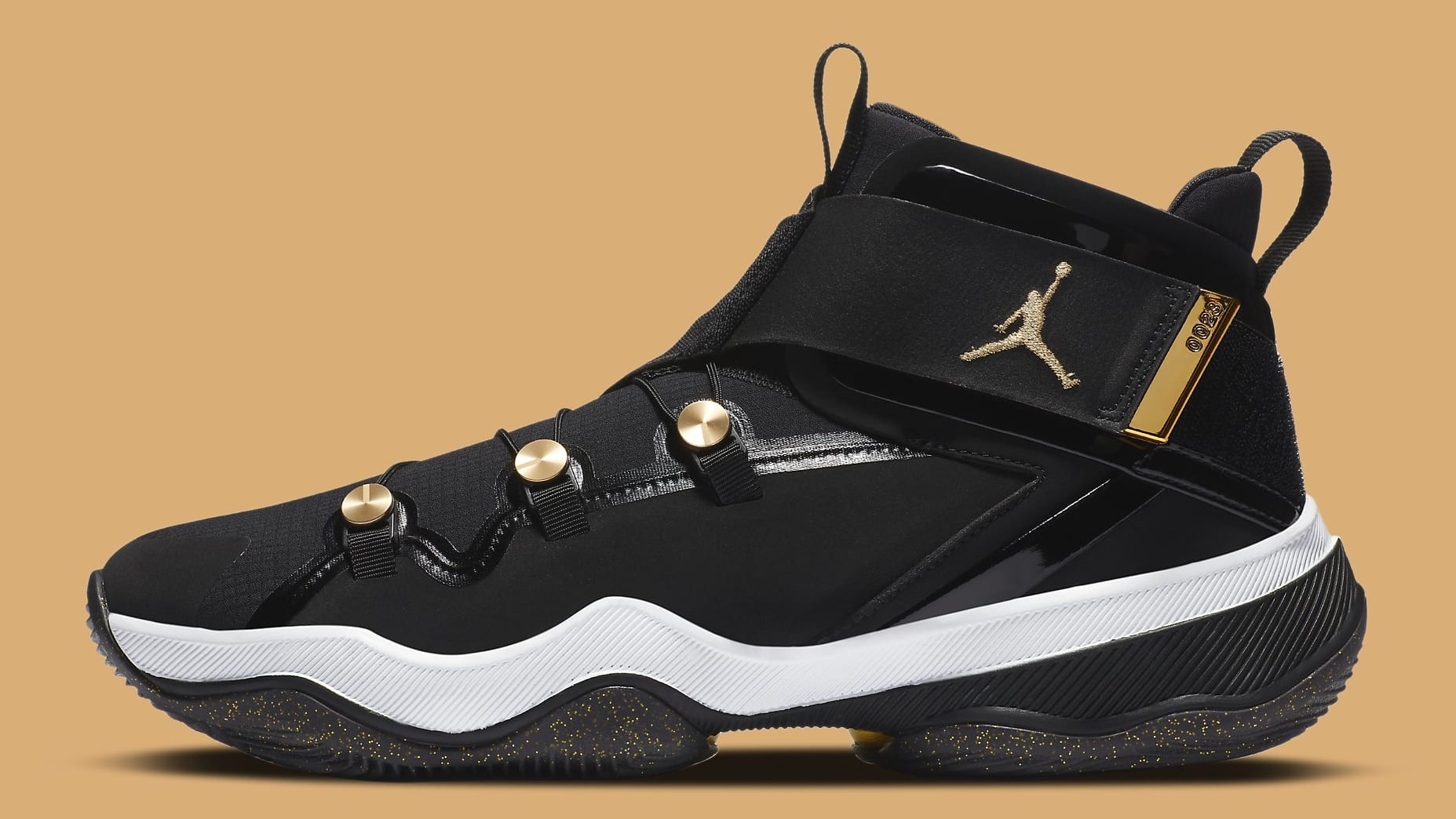 Jordan AJNT 23 Black Gold Release Date CI5441-008 Profile