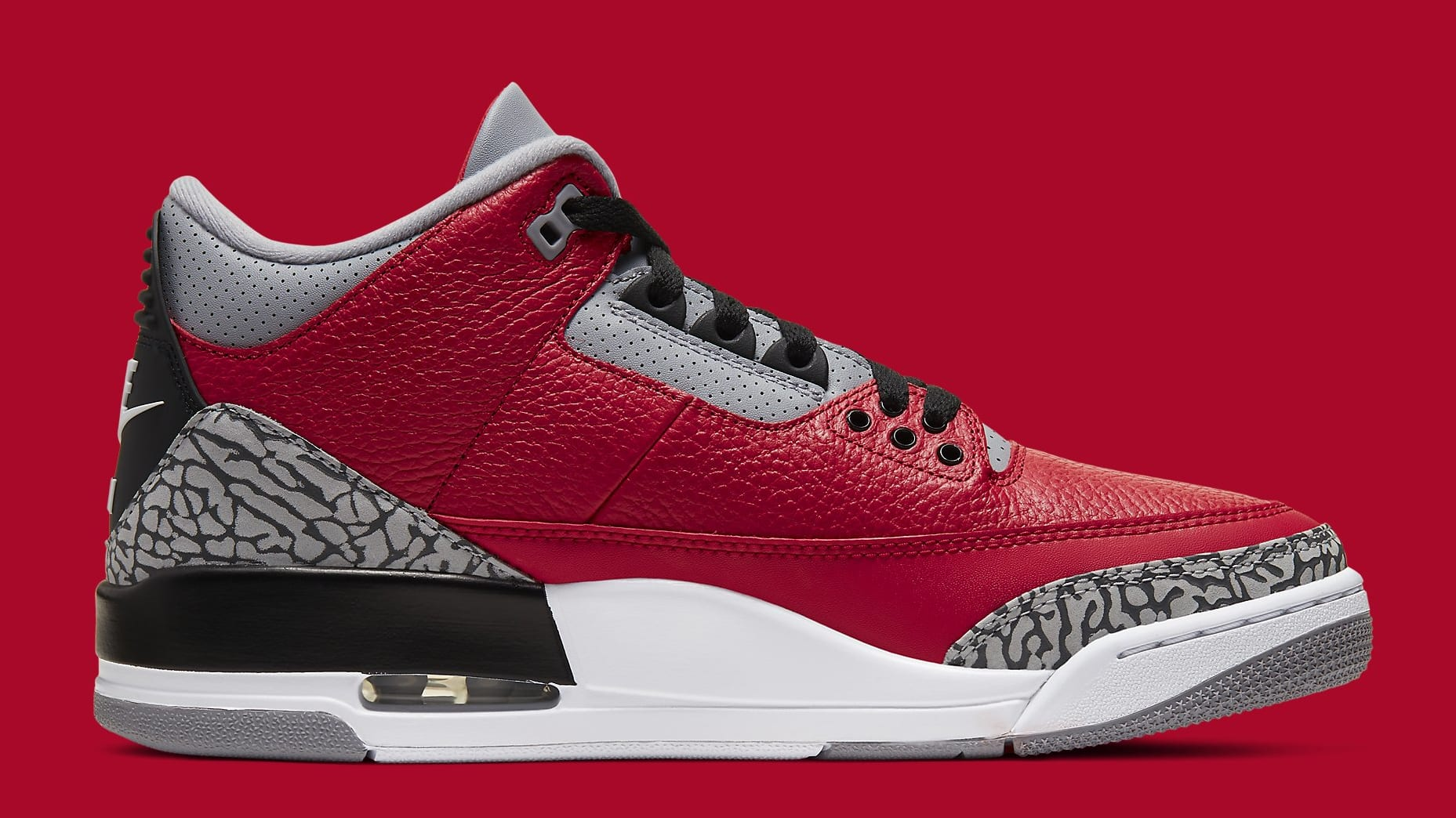 Air Jordan 3 CHI Exclusive Release Date CU2277-600 Medial