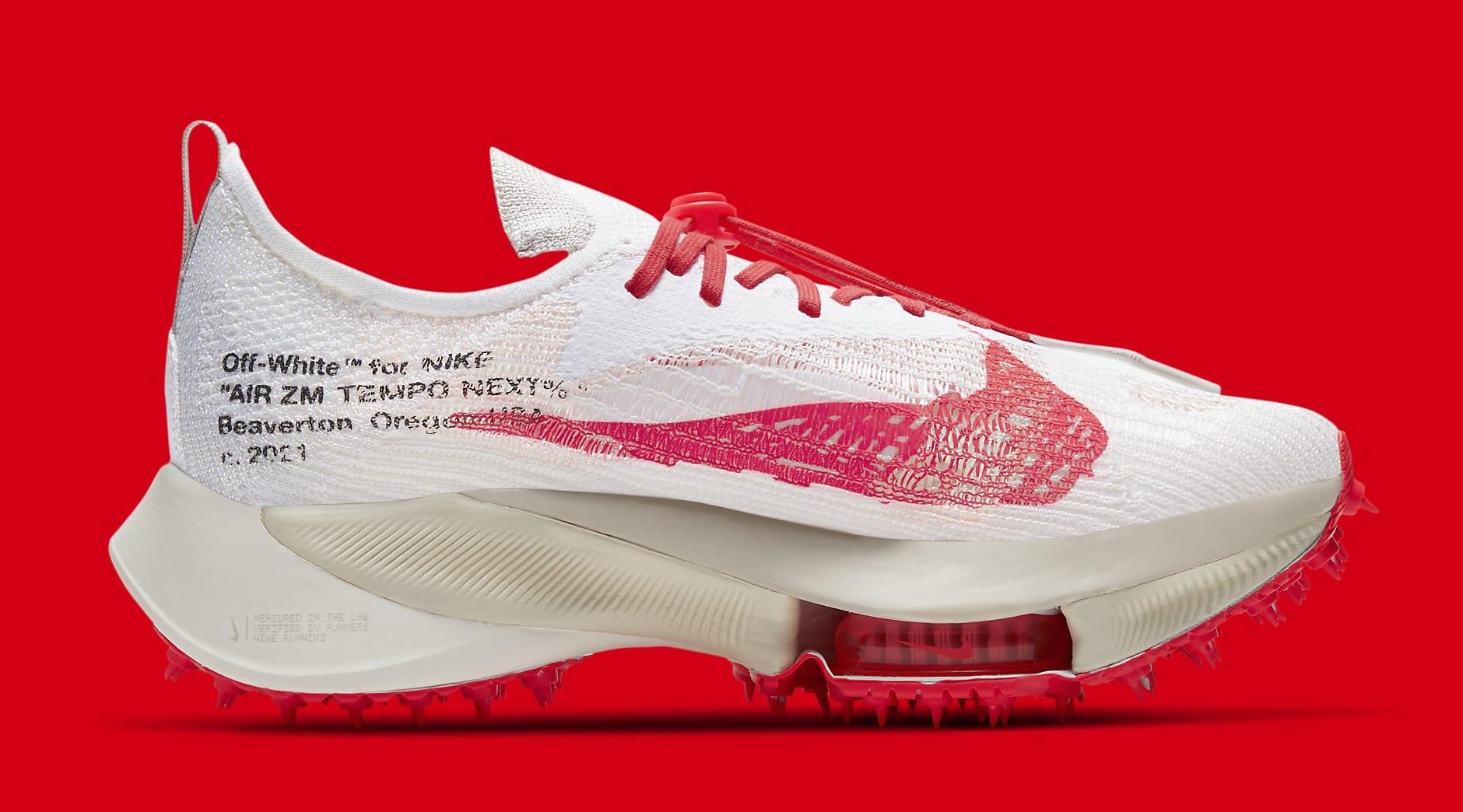 Off-White x Nike Air Zoom Tempo Next% CV0697-100 Medial