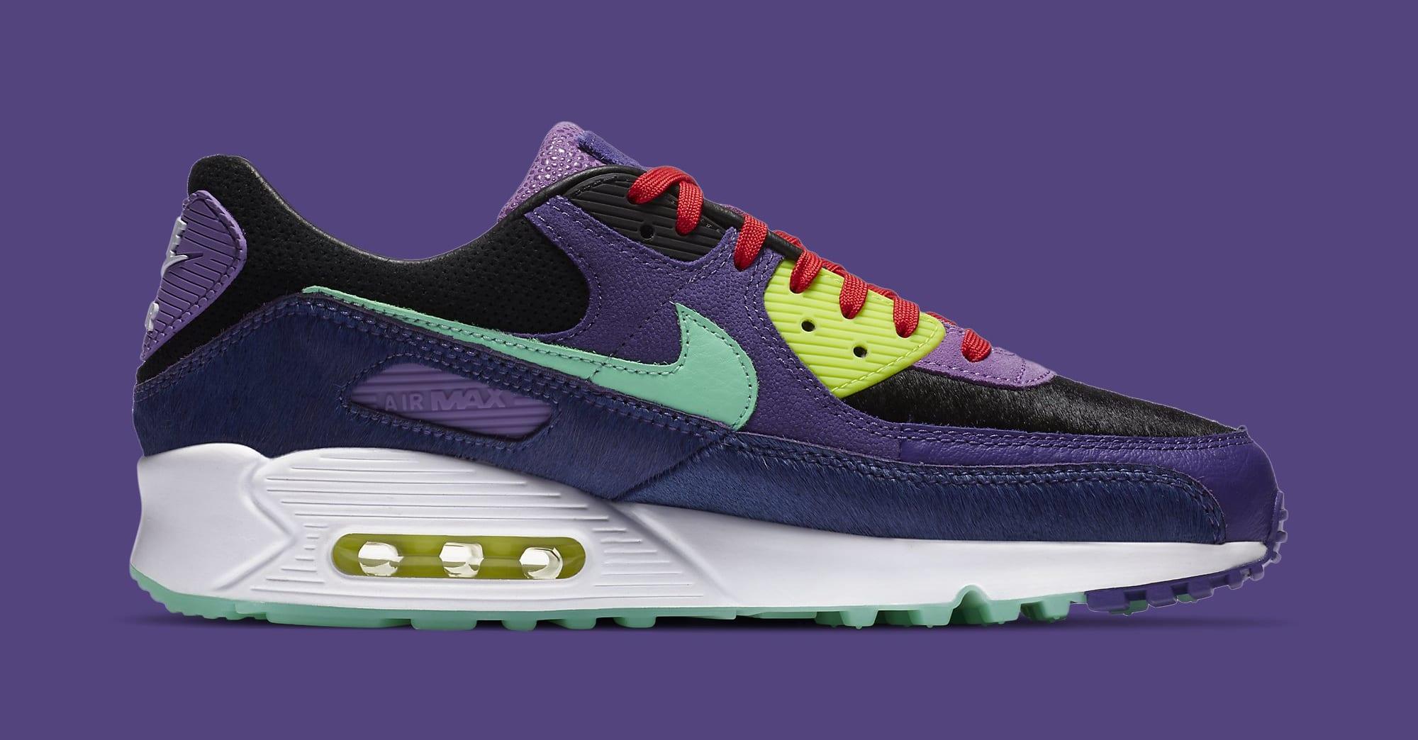 Nike Air Max 90 'Violet Blend' CZ5588-001 Medial