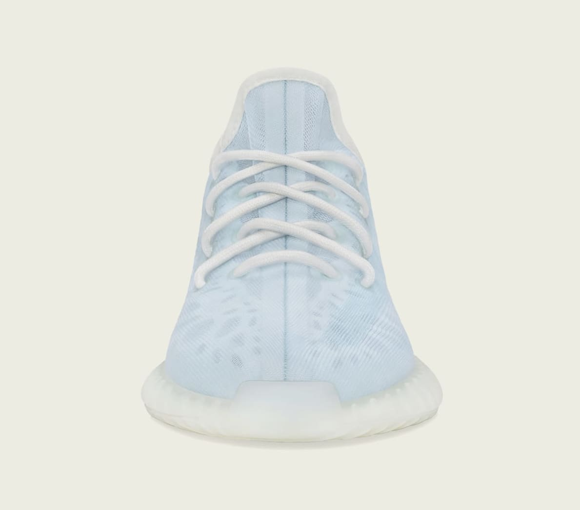 Adidas Yeezy Boost 350 V2 'Mono Ice' GW2869 Front